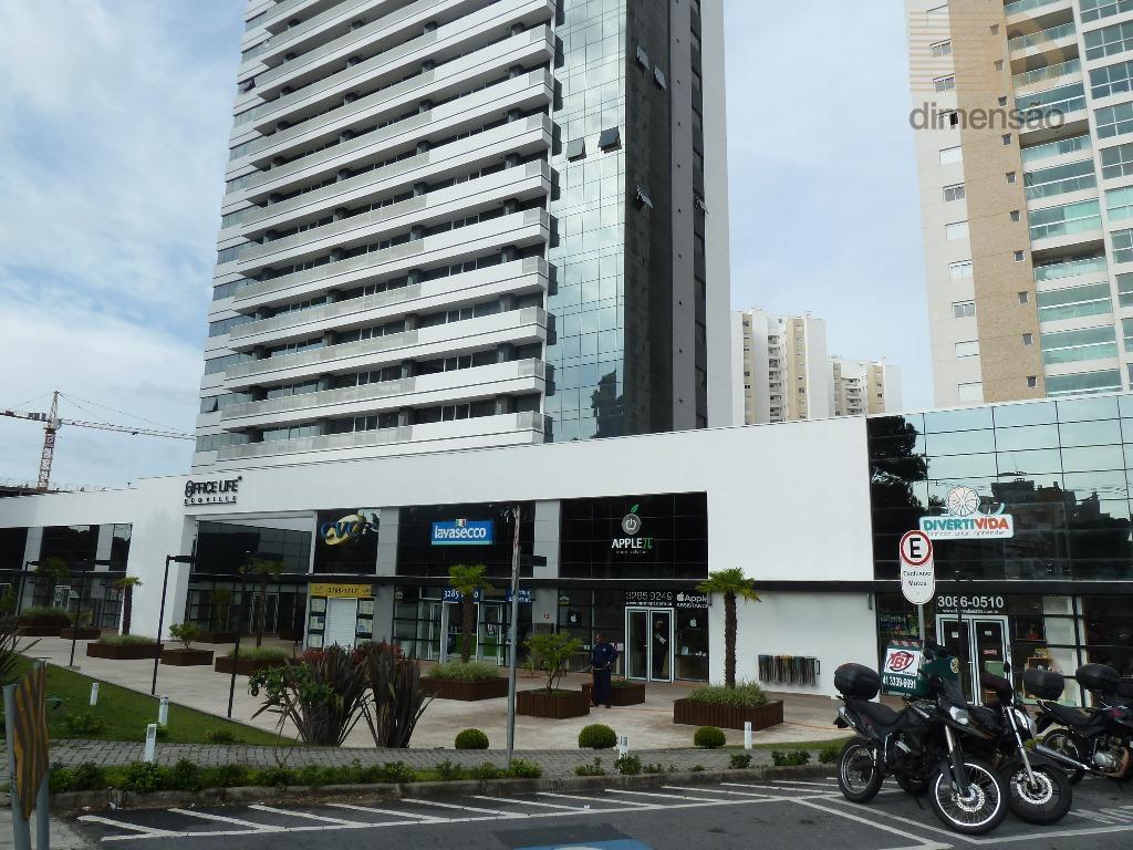 Conjunto  comercial para locação, Ecoville, Curitiba.