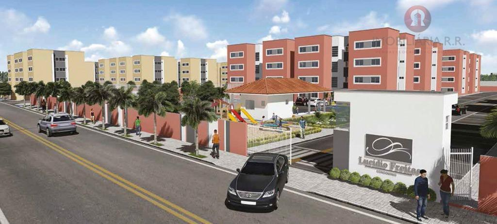 Apartamento residencial à venda, Todos os Santos, Teresina.
