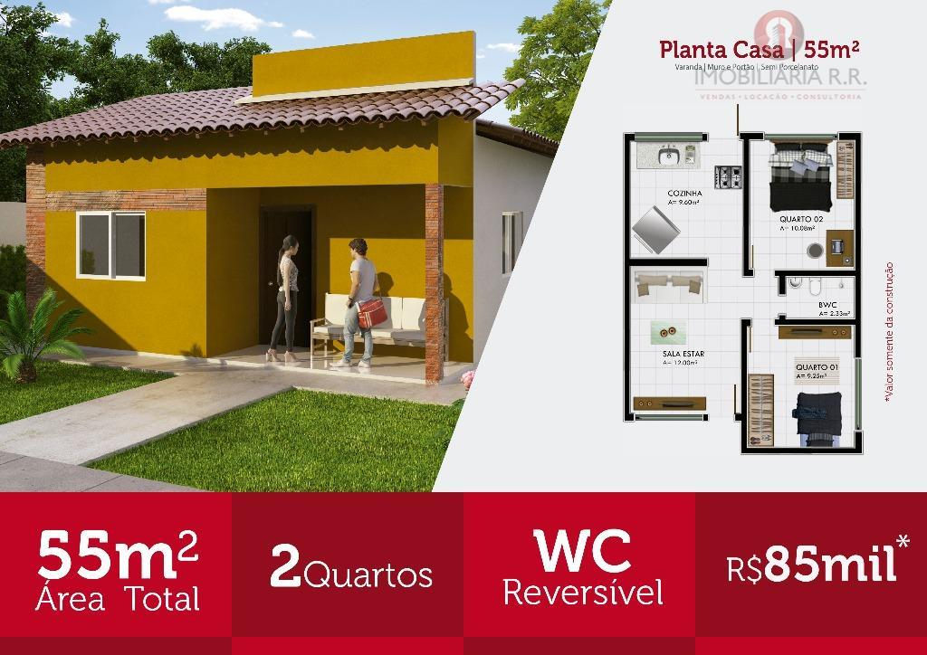 Casa residencial à venda, Pedra Mole, Teresina.