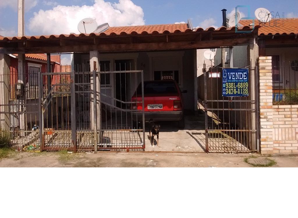Casa residencial à venda, Fortuna, Sapucaia do Sul.