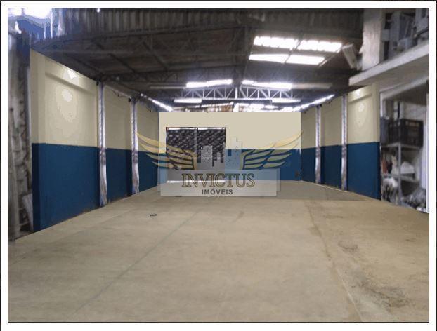 Galpão industrial para locação, Jardim Casa Grande, Diadema - GA0464.