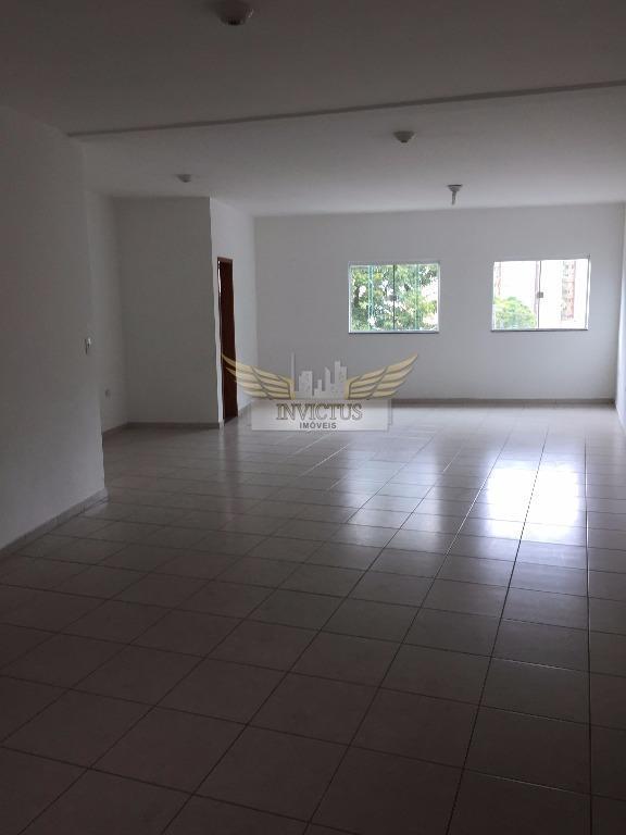 Sala comercial para locação, Vila Alzira, Santo André - SA0161.