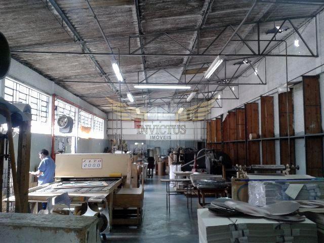Galpão industrial à venda, Conceição, Diadema.