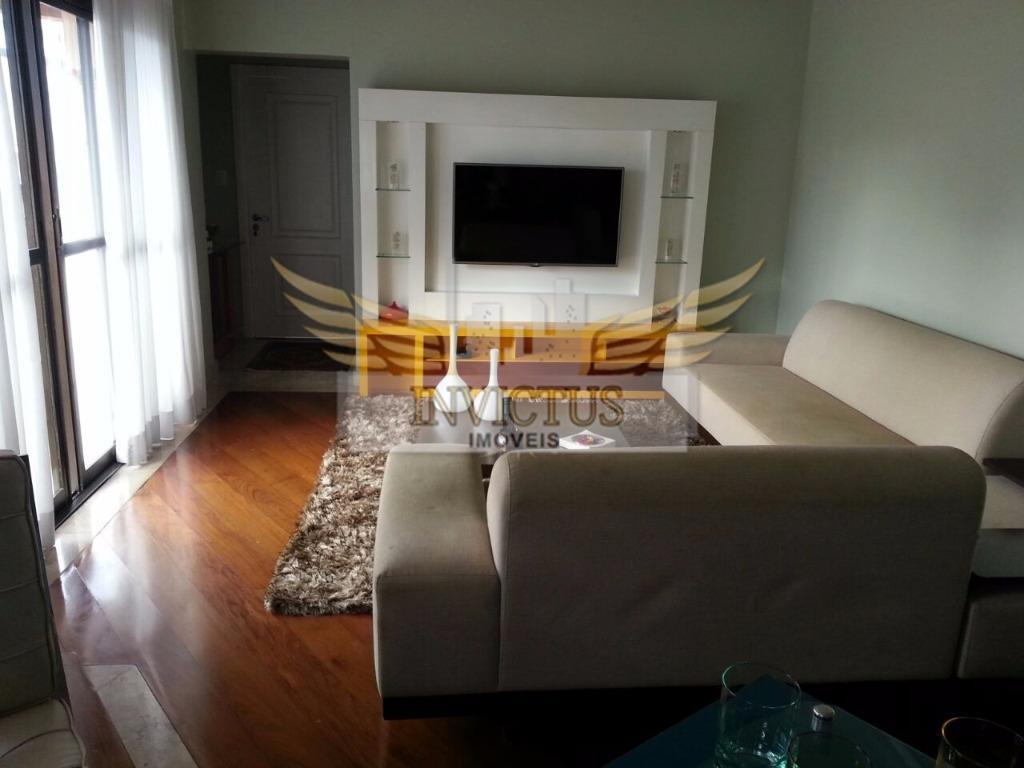 Apartamento residencial à venda, Vila Bastos, Santo André - AP2822.