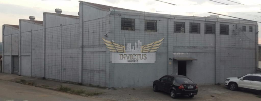 Galpão industrial para locação, Vila Nogueira, Diadema.