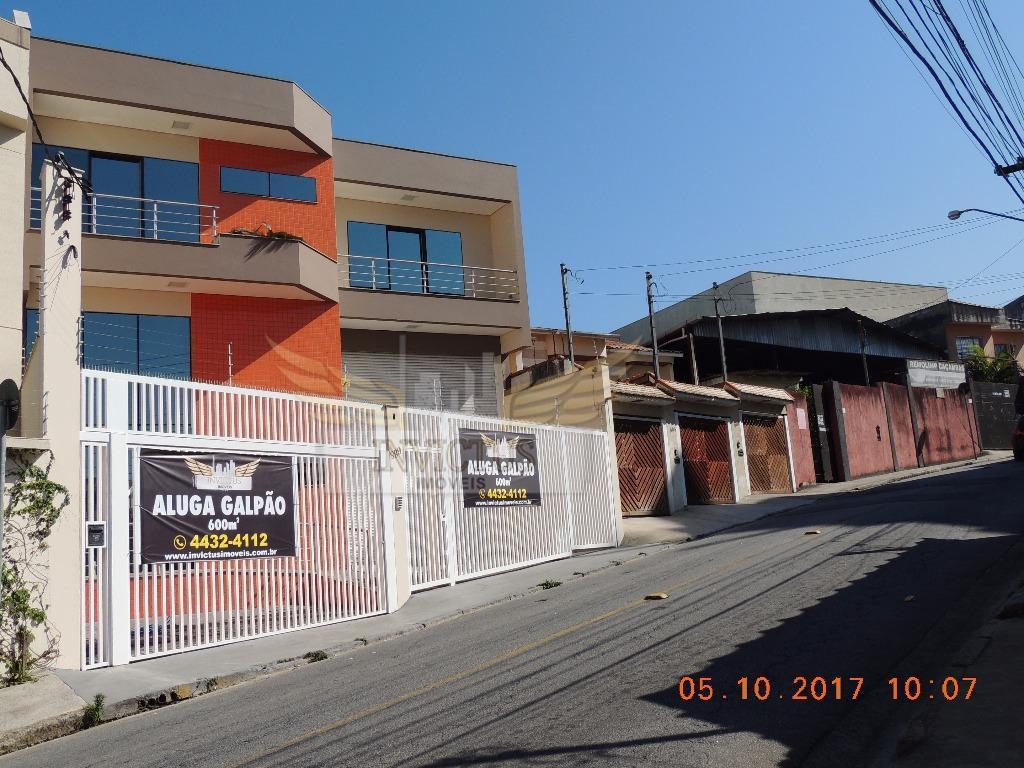 Galpão comercial para venda e locação, Jardim Stella, Santo André - GA0265.
