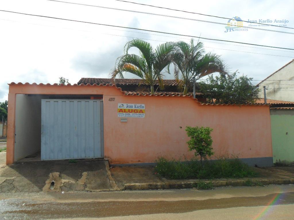 Casa  residencial para locação, Interlagos ll, Sete Lagoas.