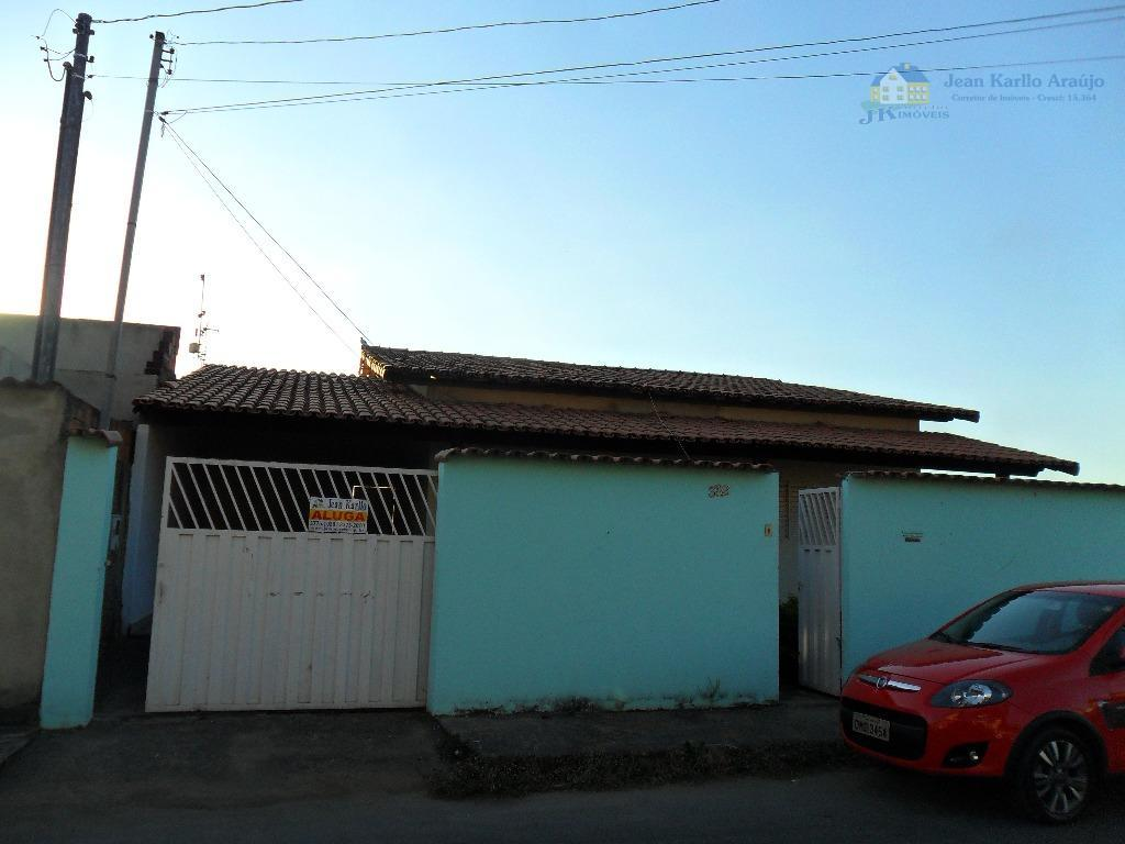 Casa  residencial para locação, Morro do Claro, Sete Lagoas.