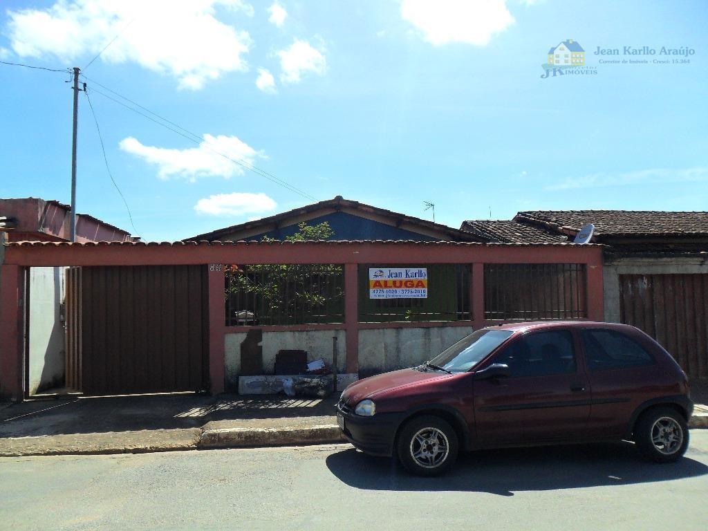 Casa  residencial para locação, Aeroporto Industrial, Sete Lagoas.