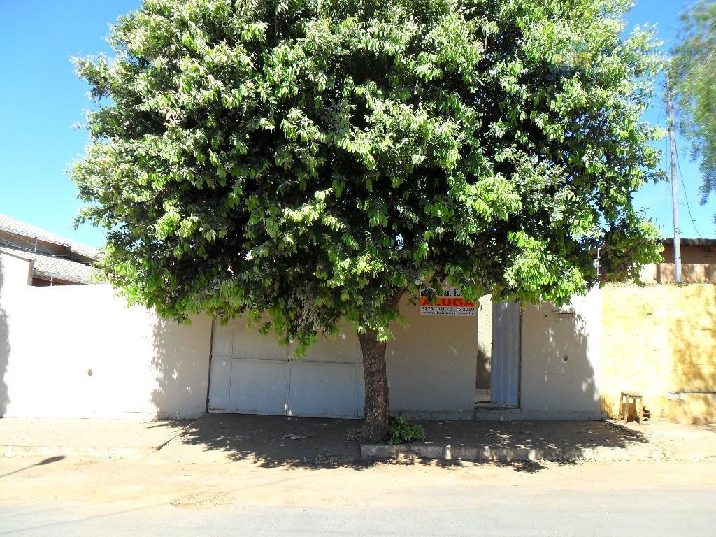 Casa  residencial para locação, Nossa Senhora do Carmo, Sete Lagoas.