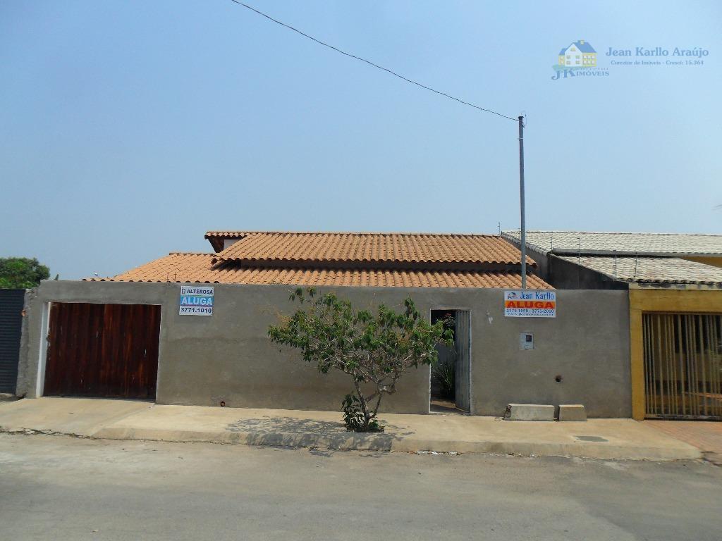 Casa  residencial para locação, São Francisco de Assis, Sete Lagoas.