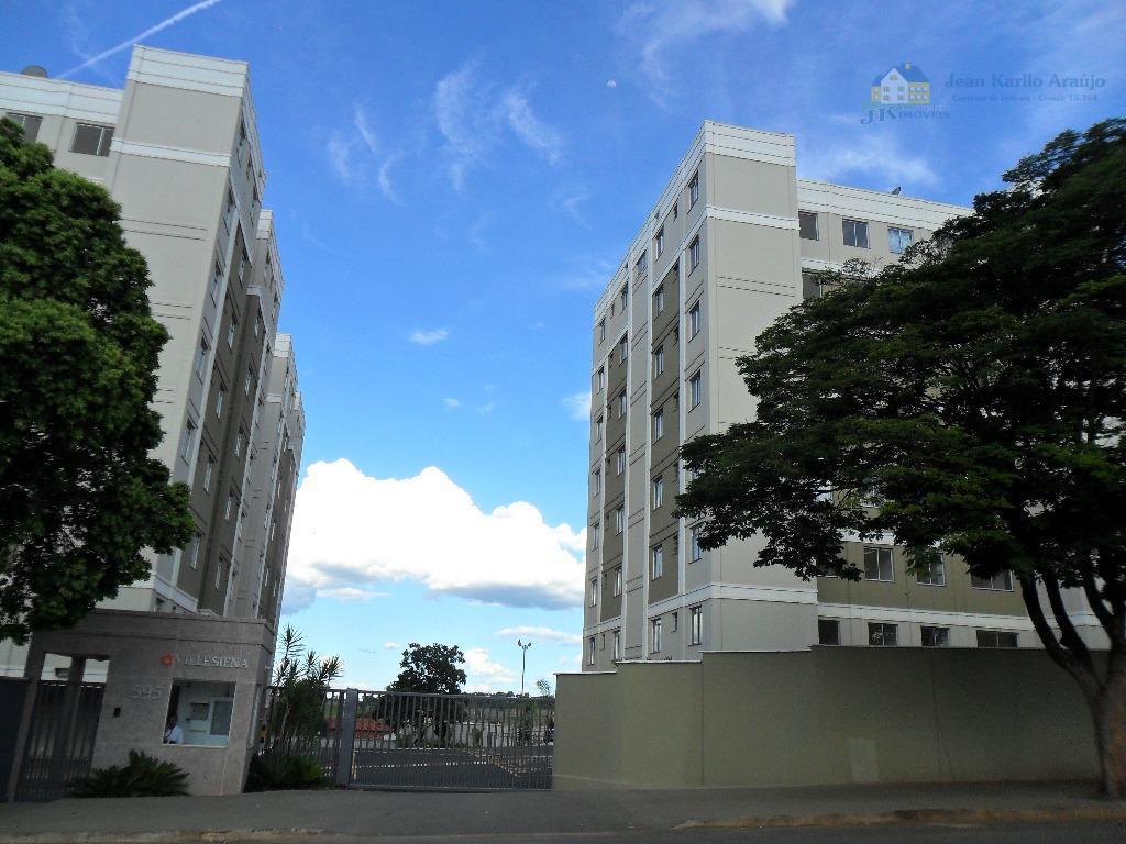 Apartamento residencial para locação, Iporanga, Sete Lagoas.