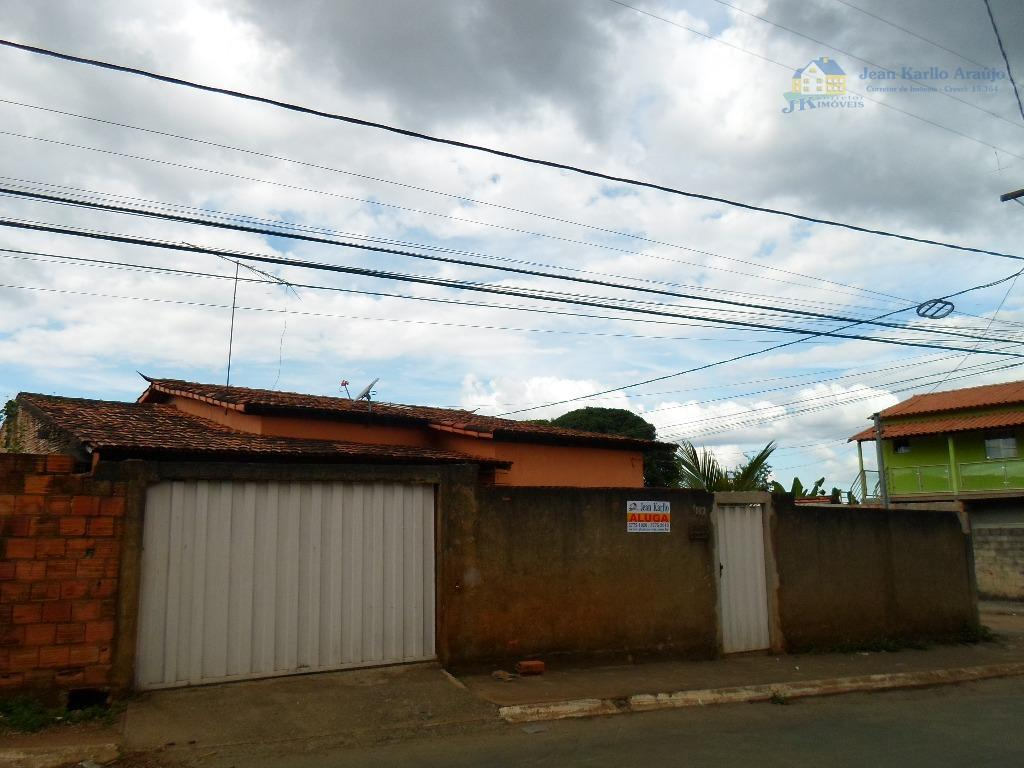 Casa residencial para locação, Emília, Sete Lagoas.