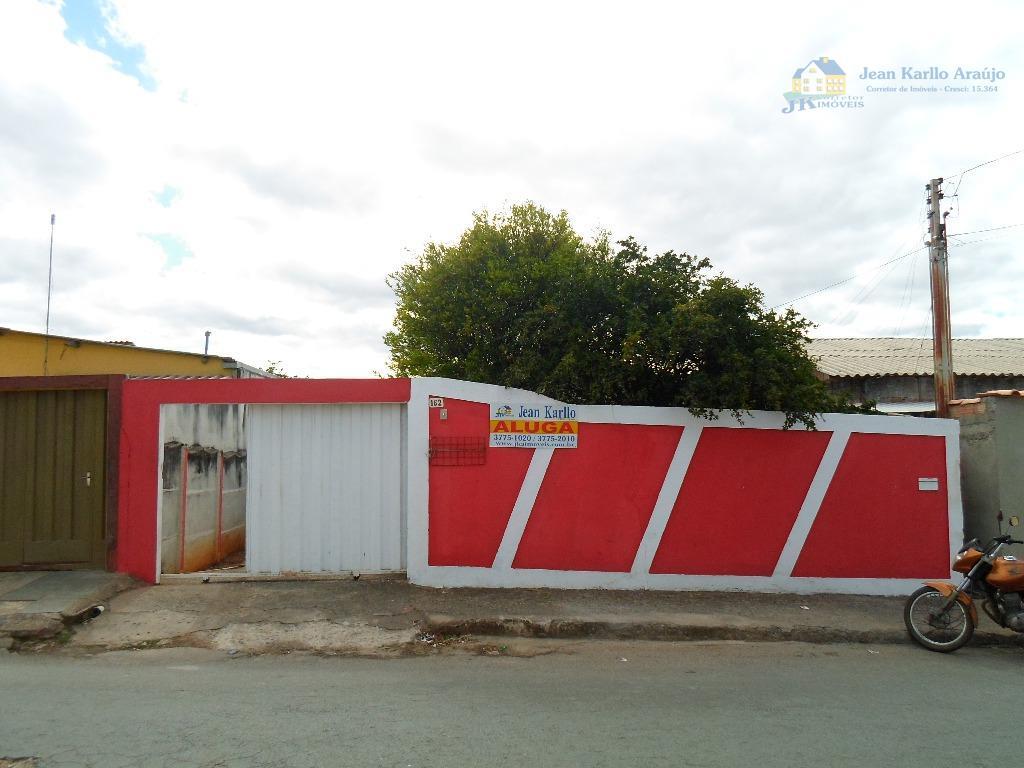 Casa residencial para locação, Nova Cidade, Sete Lagoas.