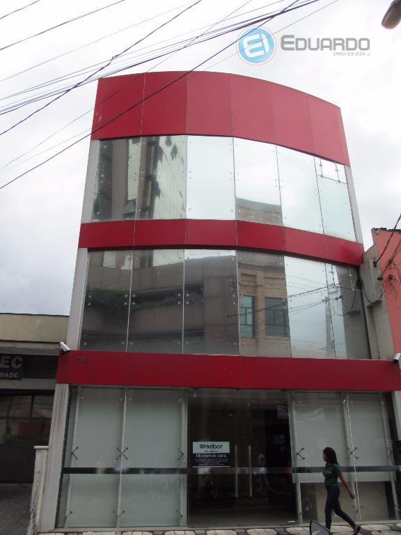 excelente prédio comercial no centro de mogi. pronto para entrar e iniciar as atividades. contempla térreo...