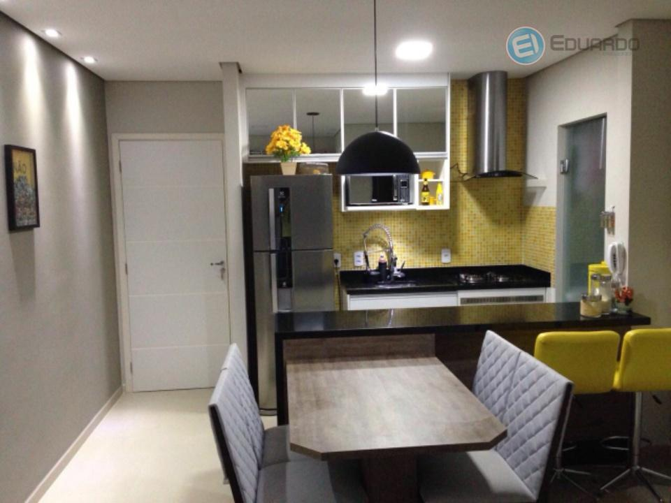 Apartamento residencial à venda, Vila Nova Aparecida, Mogi das Cruzes.