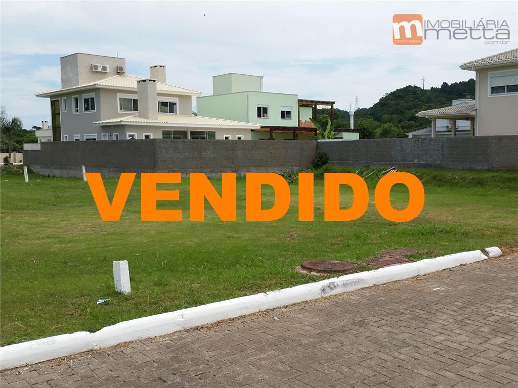 Terreno  residencial em condomínio fechado, Vargem Pequena, Florianópolis.