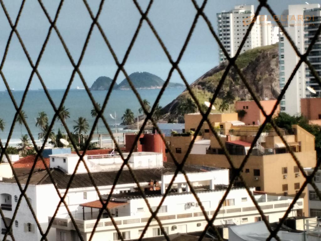 Apartamento residencial à venda, Jardim Belmar, Guarujá.