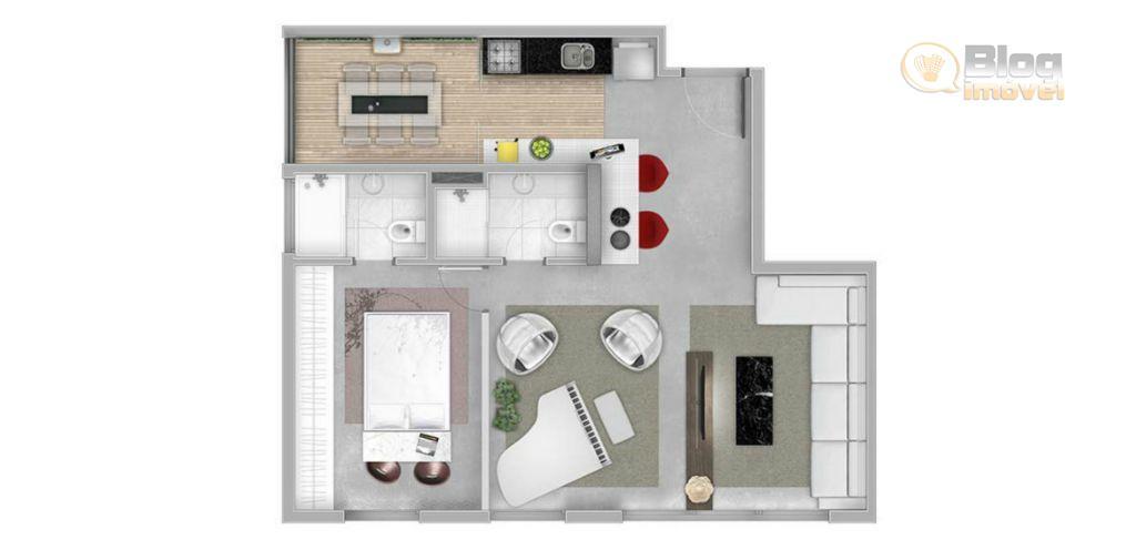 Apartamento à venda, 70m², 1 suíte, 1 vaga, Vila Leopoldina