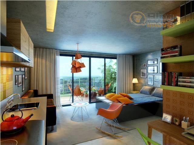 Apartamento  tipo Studio à venda, 36m², 1 Vaga, Bela Vista