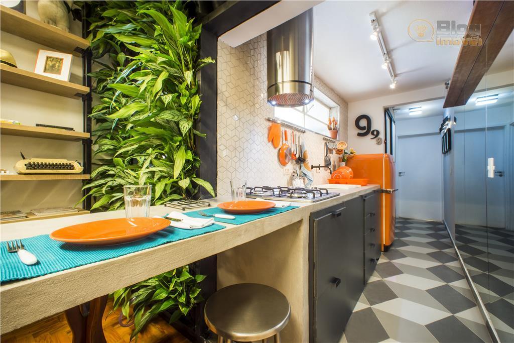 Apartamento à venda, 40m², 1 dorm, Reformado e Mobiliado, Consolação,