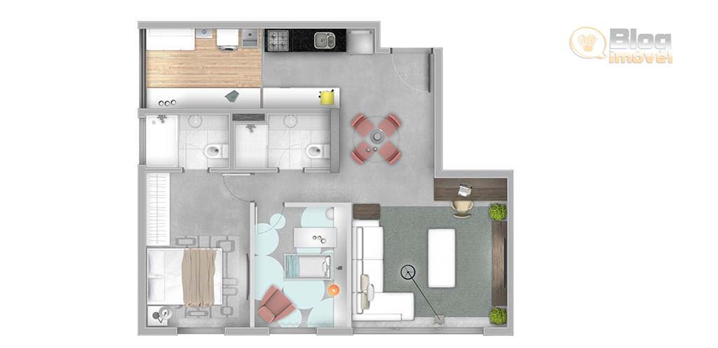 apartamento mobiliado com armários da tok stok na cozinha, área de serviço, banheiros e quartos. fogão...