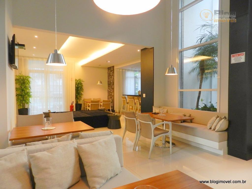 apartamento novo, nunca habitado, mobiliado, decorado, com fechamento da sacada em vidro, ar condicionado, equipado com...