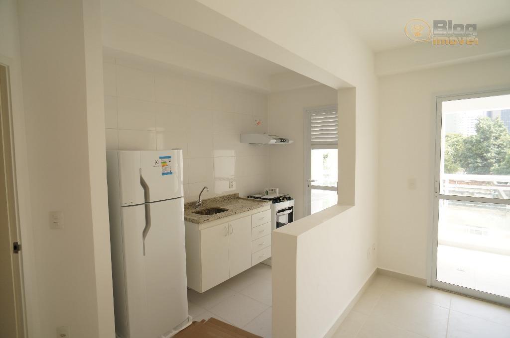 Apartamento Novo para locação, 01 dorm, 01 vaga, Consolação