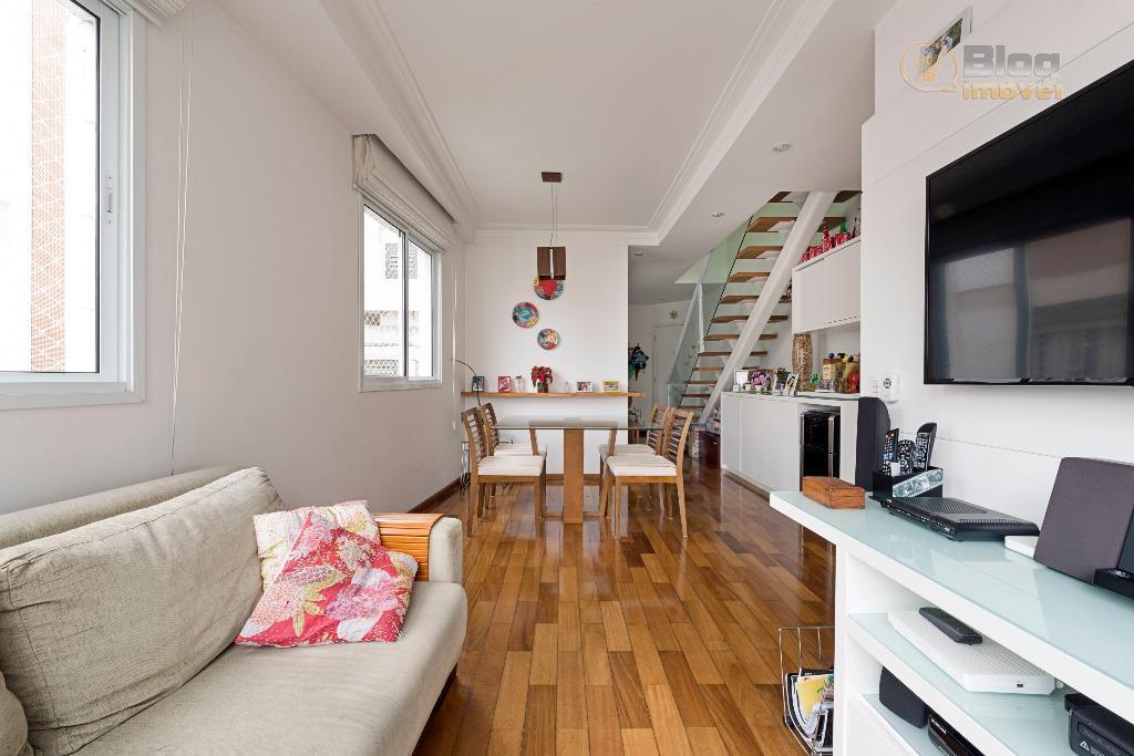 Apartamento Duplex à venda, 2 suítes, 2 vagas, Higienópolis