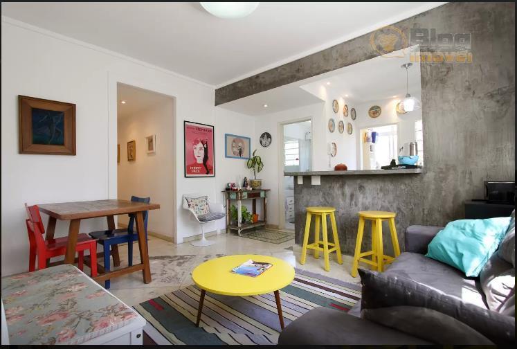 Apartamento mobiliado à venda, 1 dorm, Bela Vista