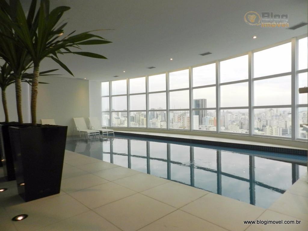 Apartamento NOVO à venda, 2 dorms, 1 vaga, Consolação