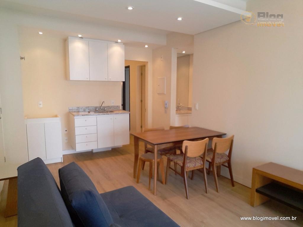 Apartamento à venda, 02 dorms, 01 vaga, Centro