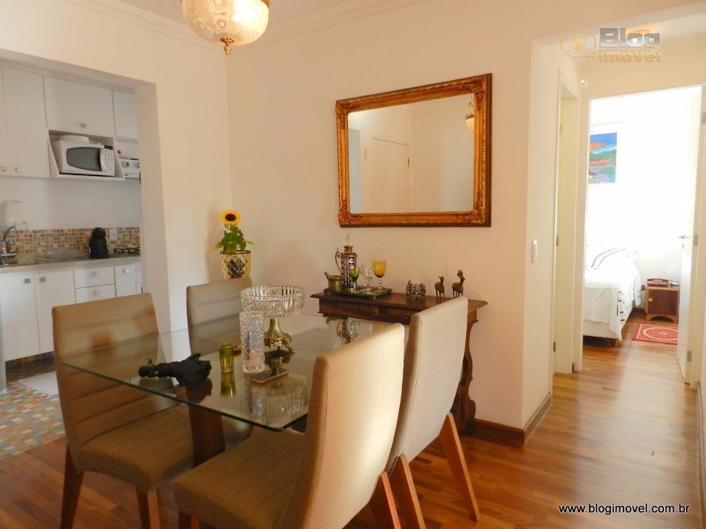 LOCAÇÃO e VENDA Apartamento MOBILIADO de 48m², 02 dorms, 01 vaga, Santa Cecília