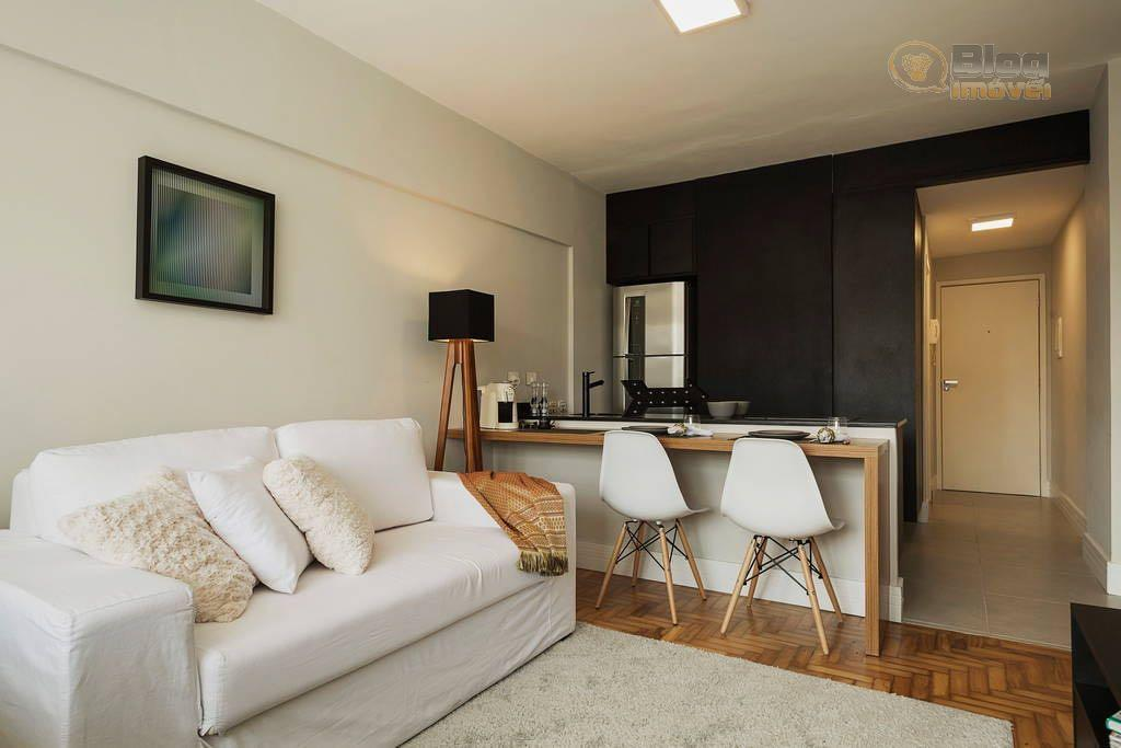 Apartamento tipo Studio, mobiliado à venda, Consolação