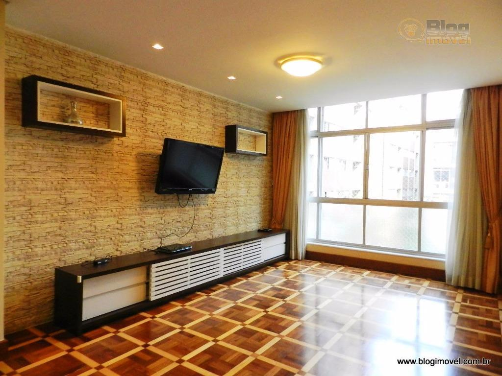 VENDA - 138m2 planejados, 4 dormitórios, living p/ 2 ambientes, 1 vaga - Metrô Paulista, São Paulo