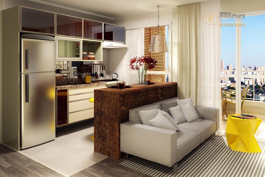Apartamento Novo, Bela Vista, 39m², 1 dorm, 1 vaga