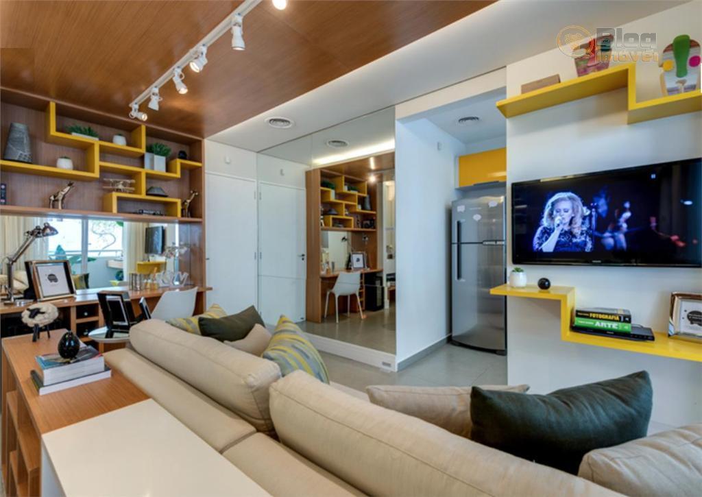 Apartamento à venda, Santa Cecília, 36m², 1 dorm, 1 vaga
