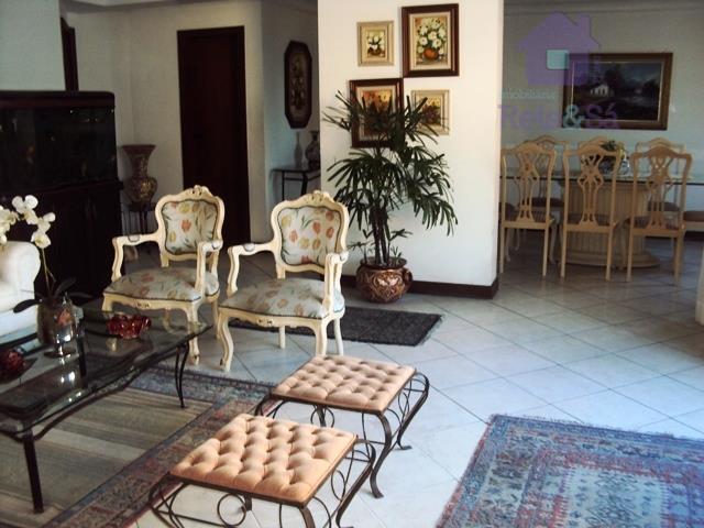 Apartamento 4/4, 03 suítes, 207m² - Pituba