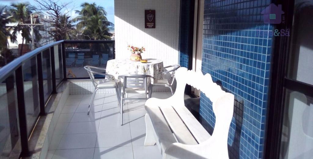 Apartamento 3/4, suíte, 96,80m² - Jardim Armação