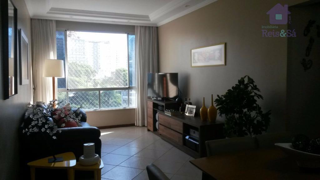 Apartamento 2/4, suíte, 76,61m² - Canela