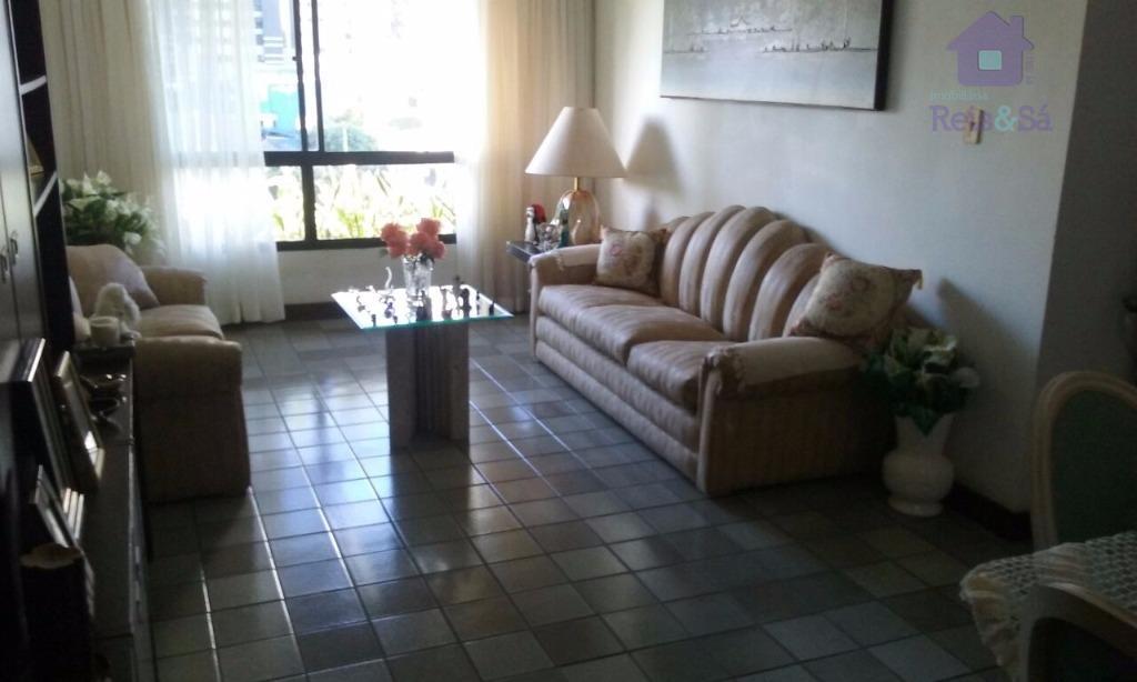 Apartamento 4/4, suíte, 140m², nascente - Pituba