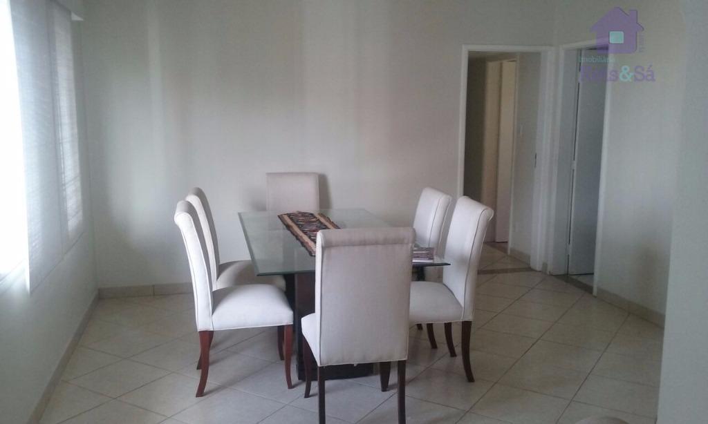 Apartamento 3/4, suíte, 120m², nascente - Pituba