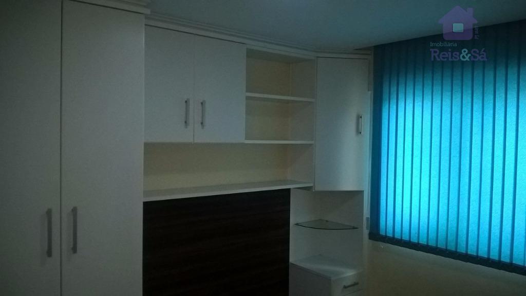 Apartamento 3/4, suíte, 73,21m², nascente - Cabula