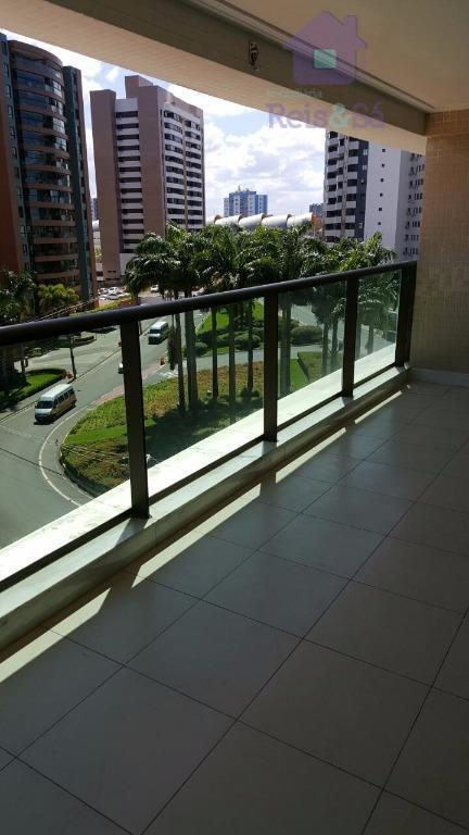 Apartamento 4/4, 02 suítes, 145m², 03 garagens - Alphaville I