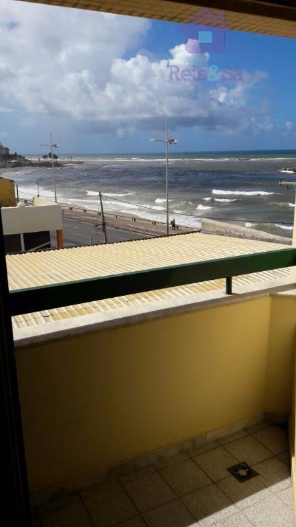 Apartamento 1/4, 40m², vista mar, nascente - Pituba
