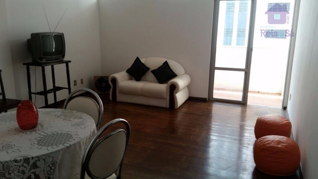 Apartamento 2/4, suíte, 90m², nascente - Graça