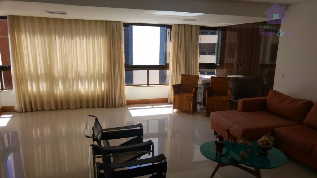 Apartamento 03 suítes, 150m², nascente - Pituba