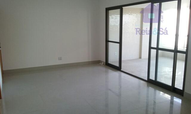 Apartamento 04 suítes, 155,95m², vista mar - Pituaçu