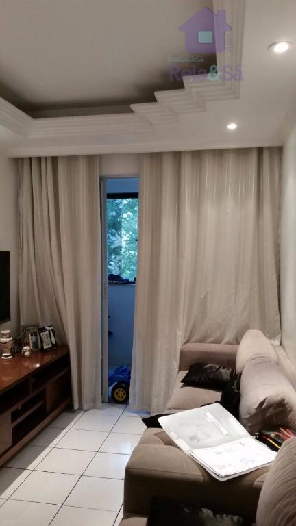 Apartamento 3/4, 77m², varanda - São Rafael
