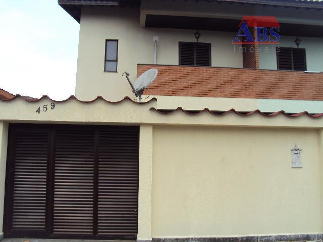 sobrado residencial para locação, Jardim Casqueiro, Cubatão.